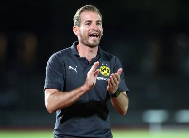 Huddersfield's new boss Jan Siewert.