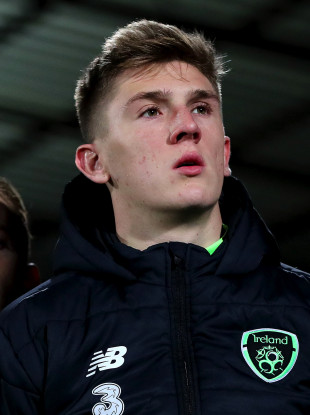 Jimmy Dunne was called up to the Republic of Ireland senior squad in November.