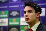 Carbery post-match in Thomond.