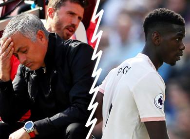 Paul Pogba struggled at times in Jose Mourinho's system.