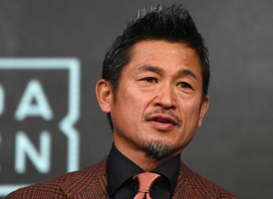 Japanese great Kazuyoshi Miura.