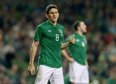 Keith Andrews made 35 appearances for Ireland.