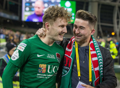 Sadlier and Maguire won the Premier Division together with Cork City in 2017.