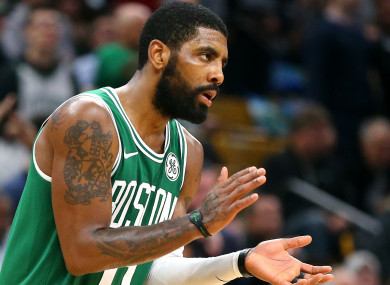 37e8bd5d3bc8 Kyrie Irving  I ll never question Celtics  teammates in public like that  ever again