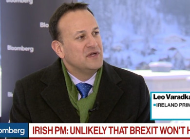 Taoiseach Leo Varadkar said if things go very wrong with Brexit the border would look like it did 20 years ago.
