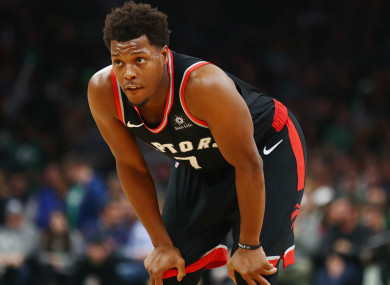 Kyle Lowry (file pic).