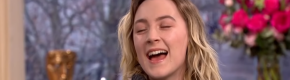 Saoirse Ronan had no chill while telling Phillip and Holly how much she loved them on This Morning