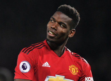 Pogba was part of a Man United team defeated Newcastle last night.