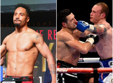 Andre Ward (L) said Carl Froch's arrogance was 'off the charts' after his former opponent claimed British boxing wouldn't miss his own domestic rival, George Groves, who retired on Monday.