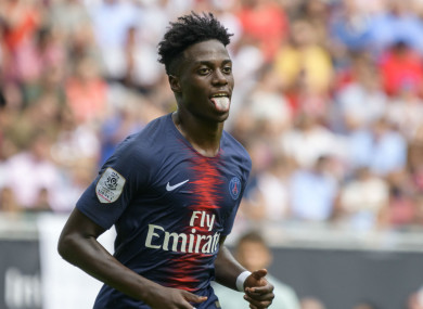 Neymar believes Timothy Weah could flourish in Celtic's attacking system.