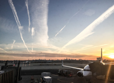 A general view at Newark airport in New York, US.