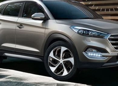 Last year's Hyundai Tucson model.