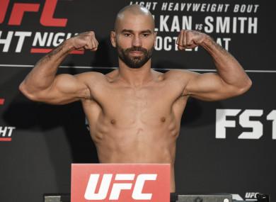 MMA fighter Artem Lobov.