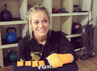 Lynn Harvey will travel to Spain to fight for the EBU strawweight tile.