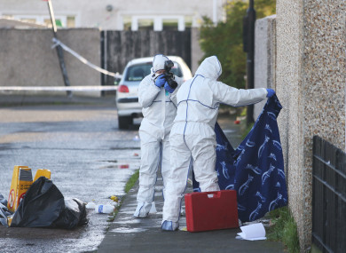 Burnt-out car found after man shot dead in north Dublin housing estate