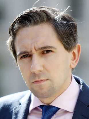 Simon Harris dubbed the alleged leak of the woman's details as 'reprehensible'.