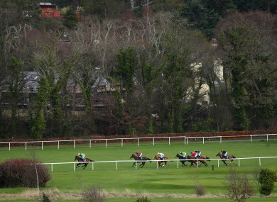 A general view of the Dublin Racing Festival earlier this month.