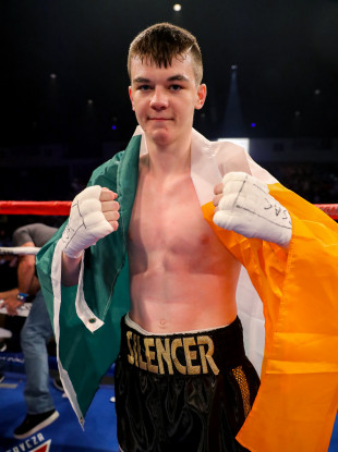 McKenna, 19, has won all six of his professional encounters thus far, four of them by stoppage.