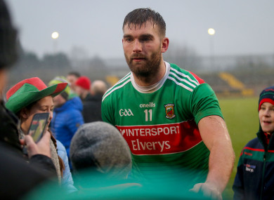Aidan O'Shea will captain the side this weekend.