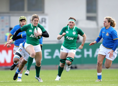 The Old Belvedere star came on against England in the first round of Ireland's Six Nations campaign.