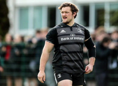 Andrew Porter, who has made appearances in both of Ireland's Six Nations games this year, is named to start against Zebre.