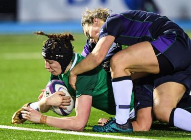 Aoife McDermott set Ireland on their way.