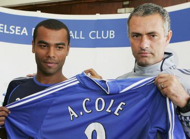 Ashley Cole played under Jose Mourinho for three seasons.