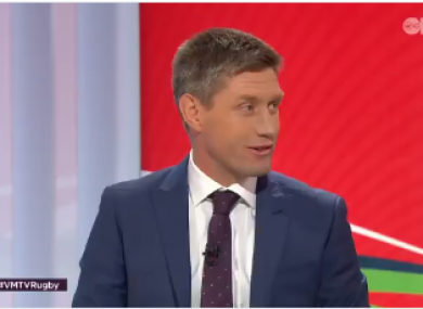 Ronan O'Gara on Virgin Media's coverage of England against France.