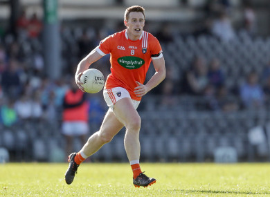 Charlie Vernon hit the goal for Armagh.