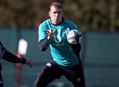 Farrell training with Ireland (file photo).