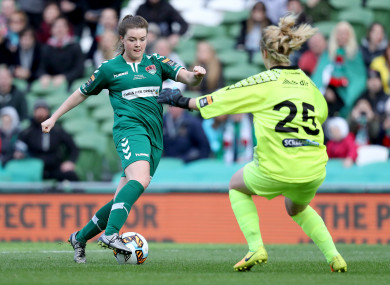 Clare Shine has made the move from Cork City back to Glasgow City.