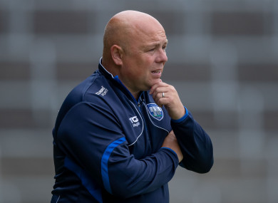 Derek McGrath took the Gailltír club for a guest training session after they won the All-Ireland semi-final.