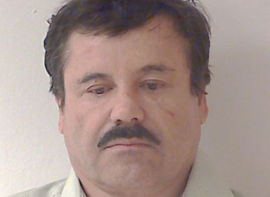 File mugshot of Joaquin 'El Chapo' Guzman from 2014.