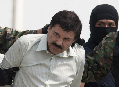 File photo of Joaquin 'El Chapo' Guzman.