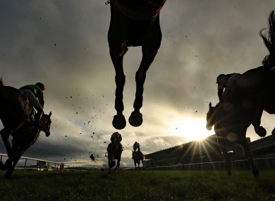 With the absence of British racing this weekend, all eyes were on Punchestown today.