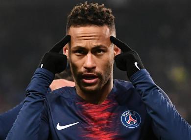 22e687e2c7a3 Paris Saint-Germain star Neymar.