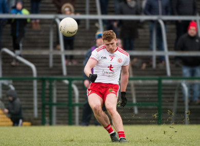 Tyrone's Peter Harte is retained for their clash with Monaghan on Saturday night.