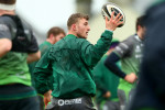 Peter Robb in training at the Sportsground this week.