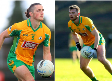 Kieran Molloy and Liam Silke are key players for Corofin.
