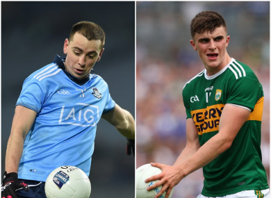Cormac Costello and Sean O'Shea could star in attack for their respective sides tonight.