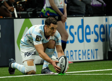 Dan Carter (file pic).