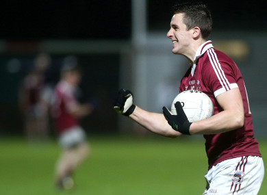 Slaughtneil's Shane McGuigan helped St Mary's to victory today.