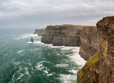 File photo of the Cliffs of Moher.