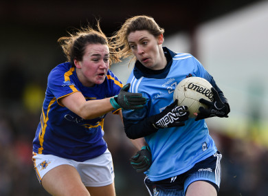 Dublin scored six goals and were comfortable winners over Tipperary on Sunday.