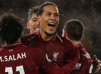 Virgil van Dijk has starred at the heart of Liverpool's defence this season.