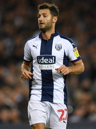 West Bromwich Albion's Wes Hoolahan.