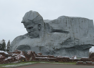 A monument in the Belarusian city of Brest.