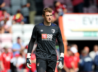 19-year-old Mark Travers is highly regarded at Bournemouth.