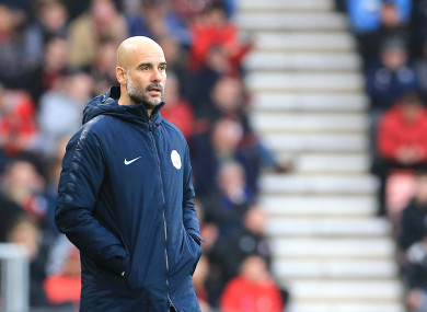 11ed07cc3 Premier League and Uefa investigations won't blemish my work with Man City  - Guardiola