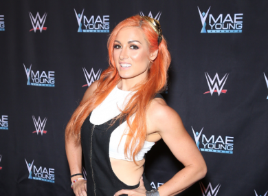 Becky Lynch (file pic).